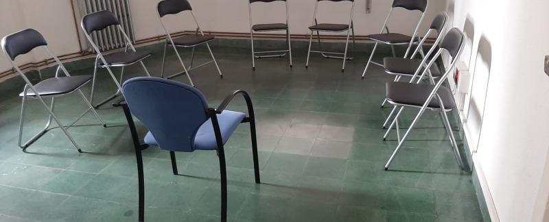 Terapia de grupo y talleres